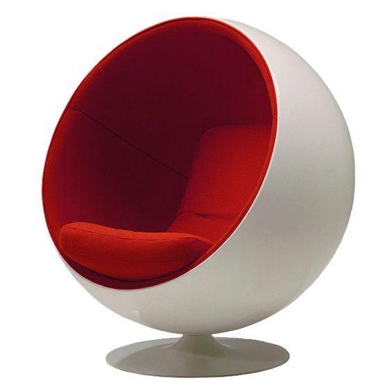 Eero Aarnio 艾洛 183 阿尼奥 著名 球椅 Ball Chair 芬兰 著名 设计师 玻璃钢家具 Eero