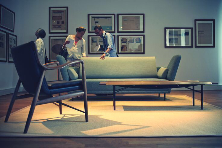 Chair45 Finn Juhl 扶手椅 设计师椅 真皮 实木椅 45号椅