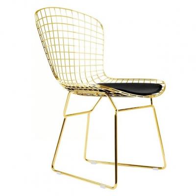Bertoia Side Chair-设计师Harry Bertoia-餐椅 全屋整装家具定制家居设计