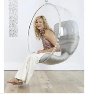 Eero Saarinen沙里宁Bubble半球椅Chair 泡泡太空舱椅亚克力椅子