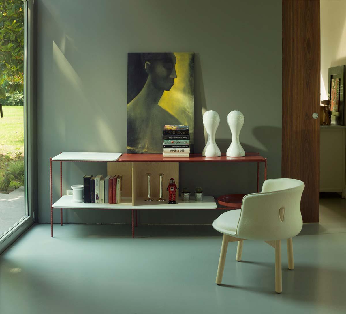 Cappellini咖啡厅椅子Peg Chair  设计师洽谈椅北欧餐厅实木椅