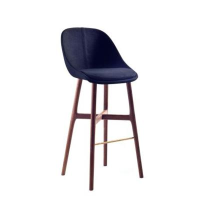 bar stool 实木酒吧椅 吧凳  会所酒店吧椅咖啡店高脚椅 美国设计上海设计华人设计