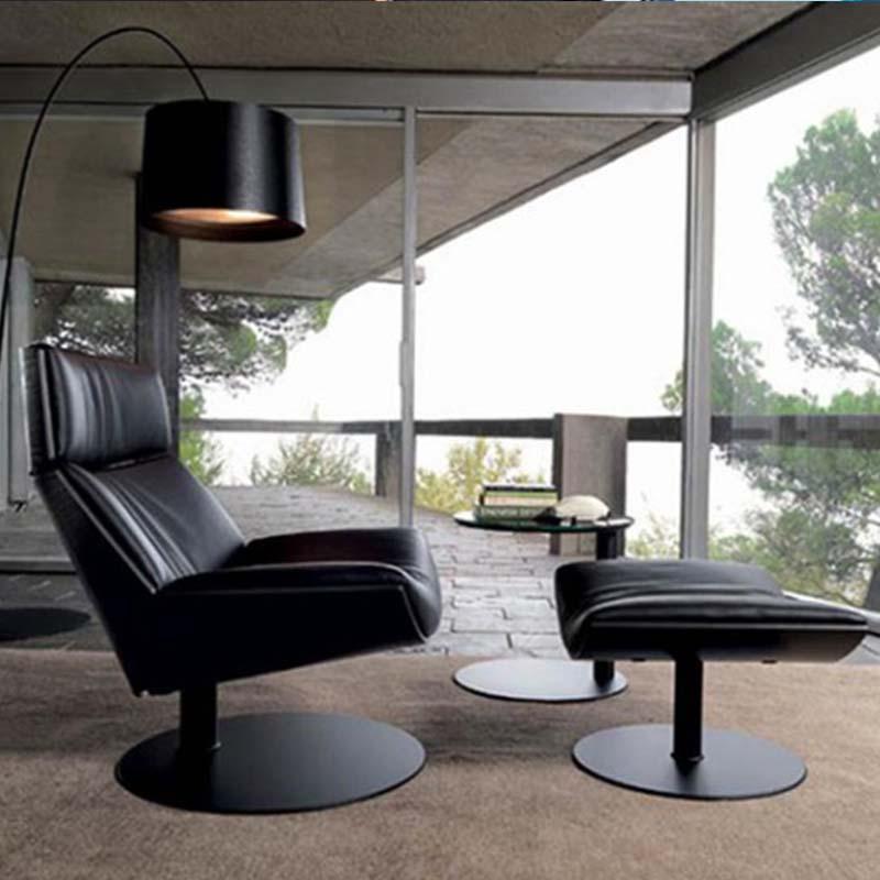 高端曲木休闲躺椅 Kara chair armchair 时尚Marc Sadler设计师