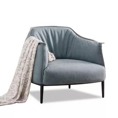 休闲沙发椅Archibald Armchair设计师Jean-Marie Massaud真皮会客椅