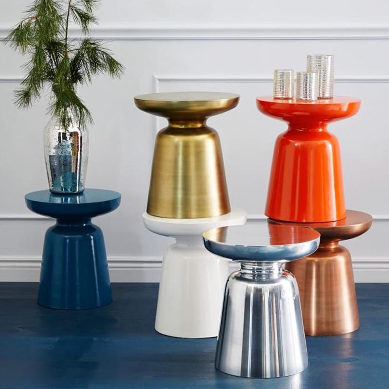 玻璃钢蘑菇茶几Martini Table简约创意装饰边几样板房酒店电话几