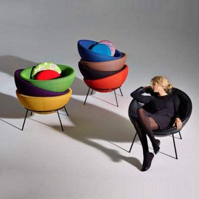 Arper Bardi's Bowl Chair 休闲碗椅 玻璃钢造型椅 设计经典椅 全屋整装家具定制家居设计