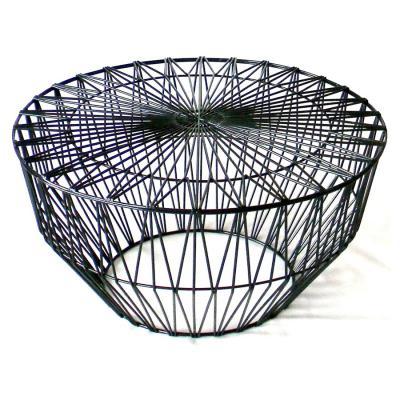 铁线网茶几Bend Drum table边集 鼓形不锈钢 烤漆茶几