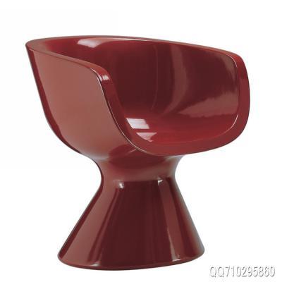 现货朵拉玻璃钢扶手椅Dora Armchair 休闲椅 现代时尚Zanotta