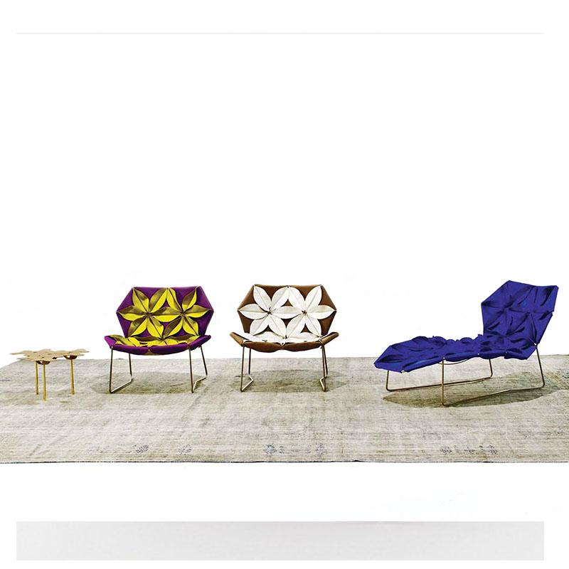 花瓣椅Moroso Antibodi leisure chair 北欧魅力经典视觉设计家具