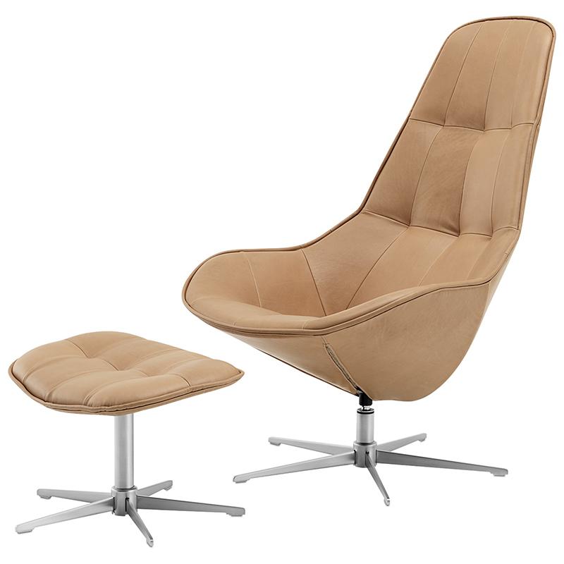 波士顿椅休闲椅Boston chair by Boconcept  老板午睡休息躺椅