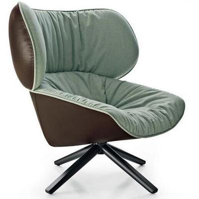 帕奇希娅·奥奇拉沙发椅atricia Urquiola Tabano chair 创意椅 扶手椅 咖啡厅创意休闲沙发椅