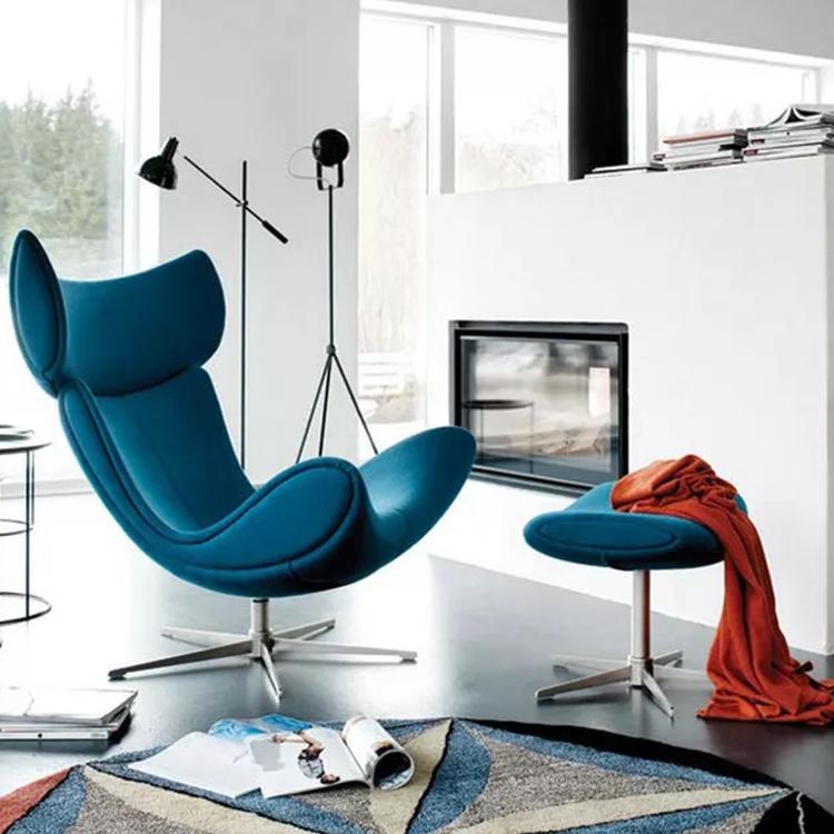 布质星脚 躺椅 时尚高端总裁椅Henrik Pedersen 母婴美容会所酒店促销家具