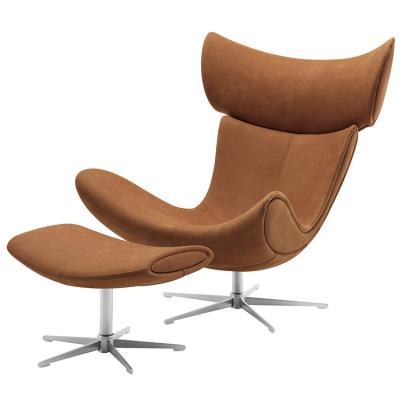皮质星脚 躺椅样品房办公总裁椅Henrik Pedersen 地产样品房 家用商用家具设计