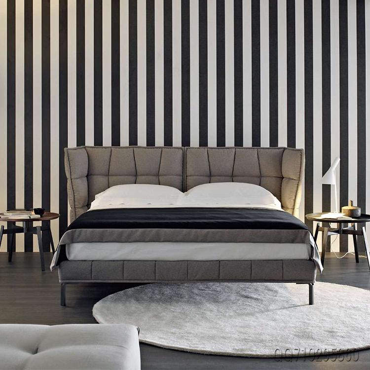 HUSK BED 稻壳软床Piero Ambrogio北欧设计师休闲床高端肌肉软床