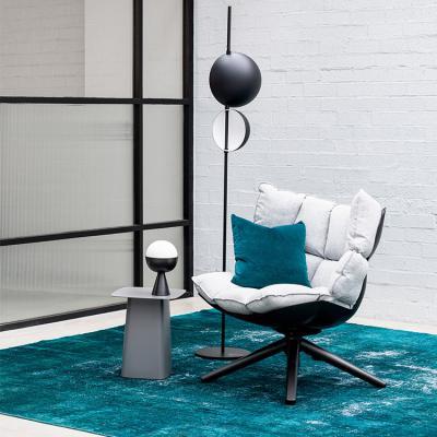 白色布款稻壳椅Husk chair肌肉玻璃钢稻田洽谈酒店休闲椅Patricia Urquiola