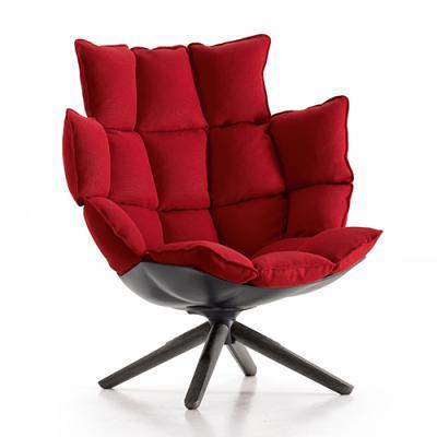 稻壳高背版休闲椅HUSK SOFA 肌肉设计师 Patricia Urquiola