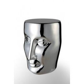 法国 XO Bonze Stool 圆凳,Philippe Starck设计(银色亮面)