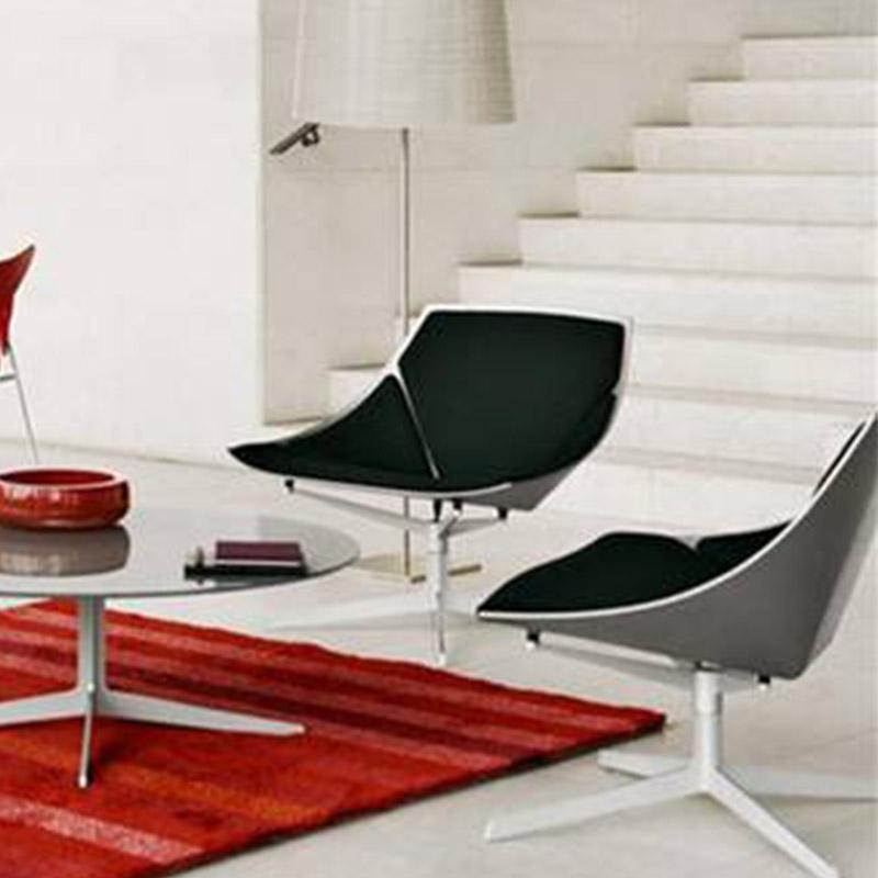 玻璃钢空格栏椅空间椅休闲洽谈接待地产扶手椅 餐椅 酒店餐厅