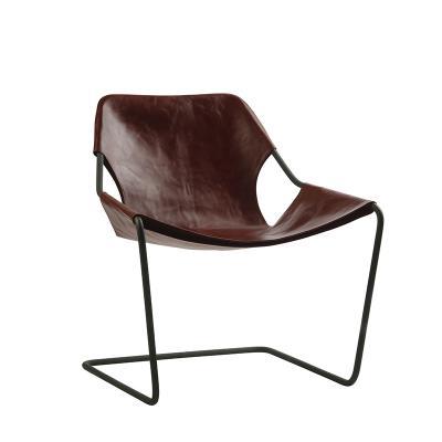 保罗椅悬垂椅Paulistano Chair创意不锈钢北欧简约椅户外真皮椅