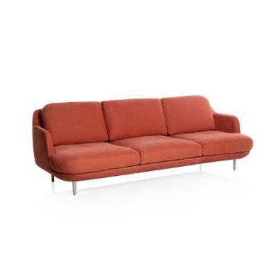 布艺沙发Lune Seater Sofa设计师样板房新款沙发 别墅大厅转角接待沙发