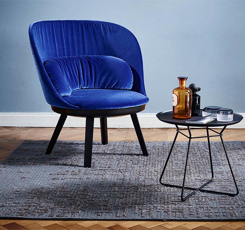 新款布艺沙发Romy Easy Chair创意时尚休闲单人设计椅