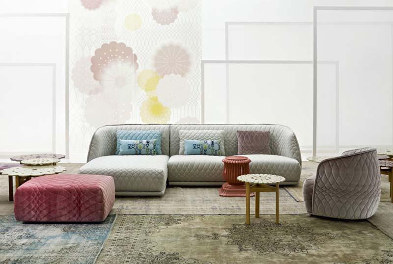 菱形布艺真皮质西皮休闲沙发小户型客厅单人双人三人位沙发 打格子