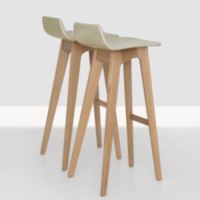 实木脚吧椅zeitraum morph bar stool经典酒店KTV吧椅 咖啡厅靠背高脚椅