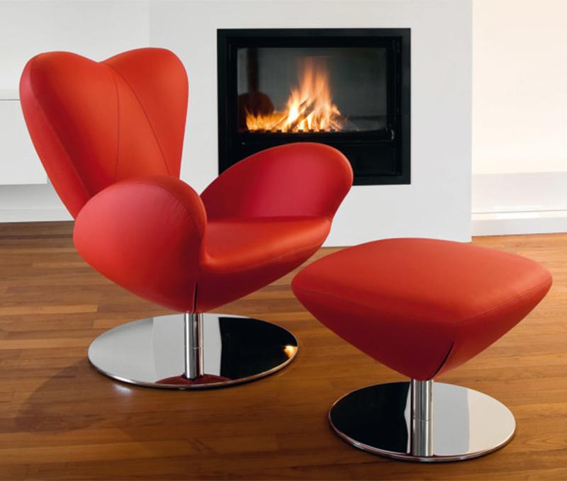 新款手指布艺椅Heartbreaker 会客椅 接待椅 洽谈椅 现代休闲椅