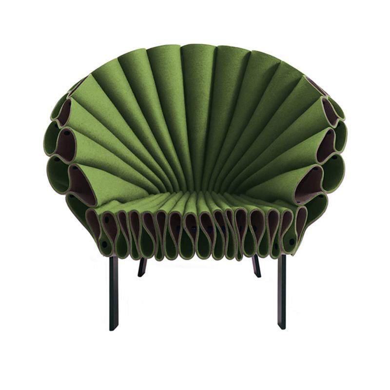 特效休闲椅Dror Bershetrit 北欧现代设计 孔雀椅