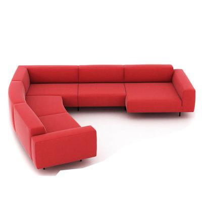 北欧大户型沙发组合endless sofa 现代简约布艺沙发 客厅家具转角大厅家具