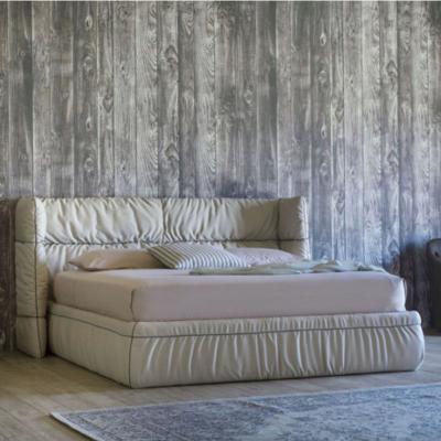 北欧布艺软床Miniforms SOFT Bed公主床1.5m主卧婚床1.8米双人皮床
