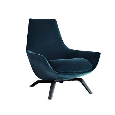 北欧布艺休闲椅设计师创意椅酒店样板房接待会所会谈椅 居家豪华 经典耐看百搭