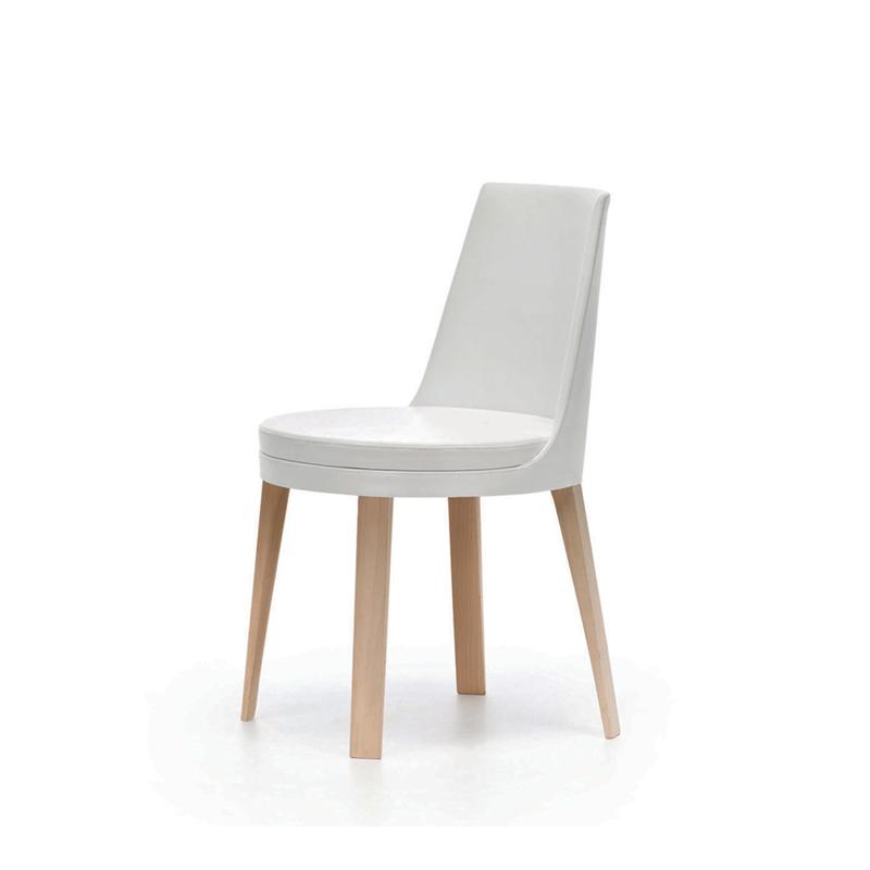 戈登真皮椅子Guillaumier Ponza北欧时尚休闲椅餐椅 小户型家居椅