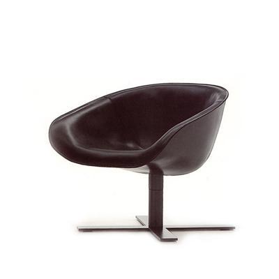 玻璃钢真皮马特椅Mart Chair ANSUNER经典设计师家具创意户外休闲椅