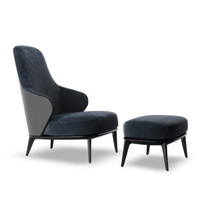 莱斯利休闲躺椅Leslie Bergère Minotti  经典商务椅 商务会客椅