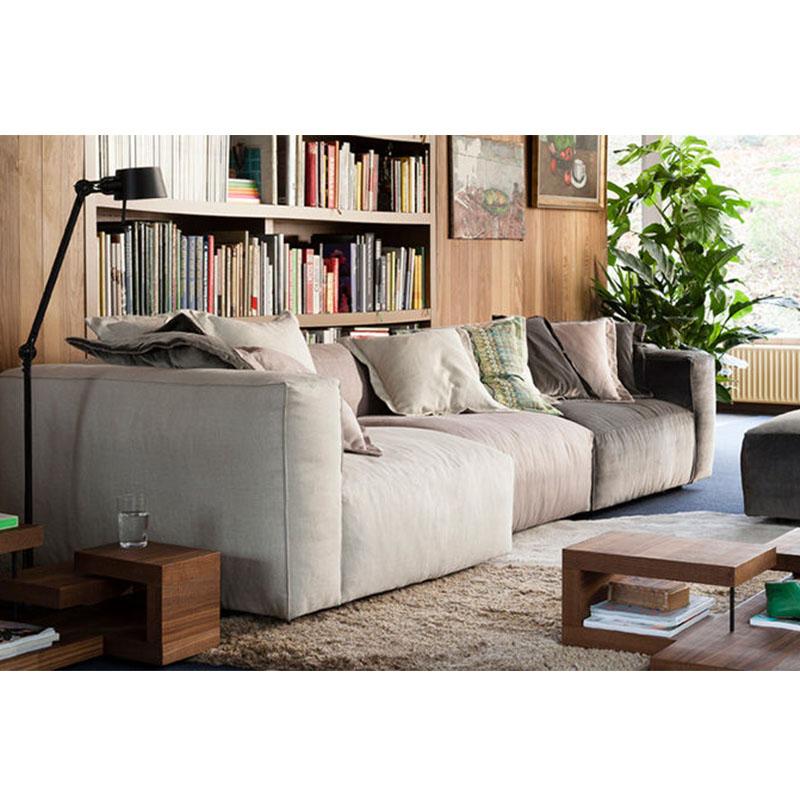 布艺南安普顿LINTELOO沙发 简约现代沙发 北欧风情PU真皮颜色面料规格可定制