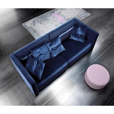 乔治模块化沙发Soressi 北欧风格布艺 商用小户型客厅酒店沙发