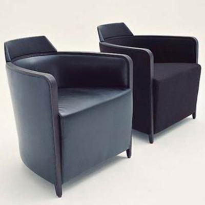 恩里科简约沙发椅Franzolini北欧风格小户型客厅沙发椅酒店沙发椅