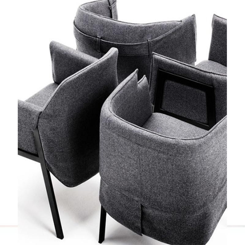 北欧时尚休闲椅Giopato Coombes 洽谈椅小户型家居餐椅扶手椅