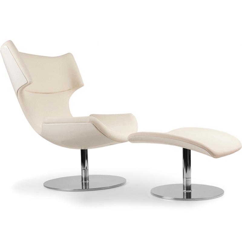玻色子椅子 boson chair & ottoman  脚踏 北欧设计风格休闲椅