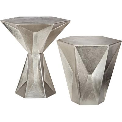 玻璃钢五金宝石茶几gem low table 宝石茶几 设计师Made by Tom Dixon 后现代风茶几