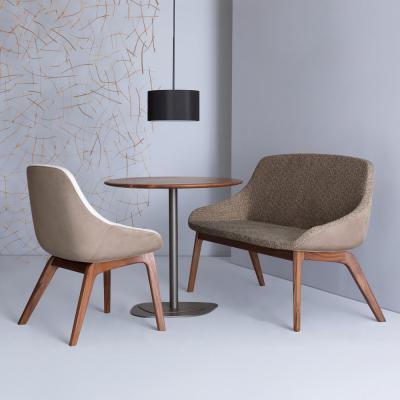 单人双座餐饮长椅Morph Duo Dining 设计师椅休闲椅 变形两人餐椅