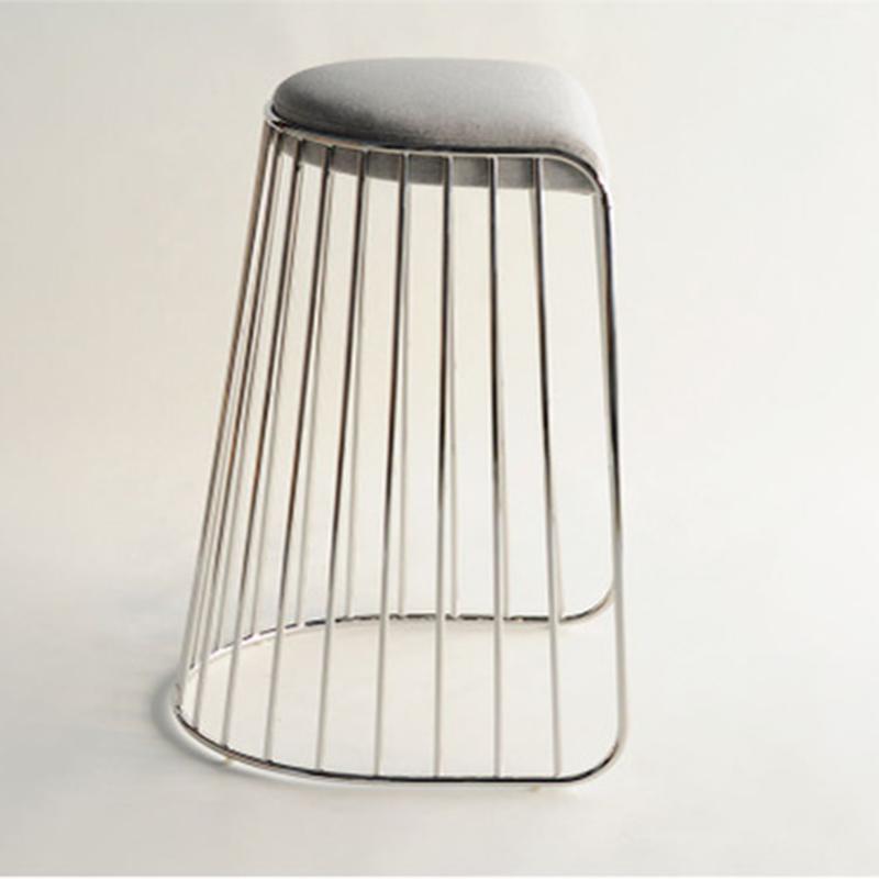 无靠背版新婚吧椅北欧经典吧椅复古吧凳 北欧欧美家具高端个性定制