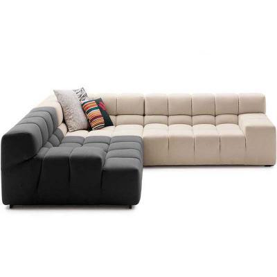 布艺休闲方块沙发BEB ITALY设计时尚沙发经典休闲沙发组合规格可定制