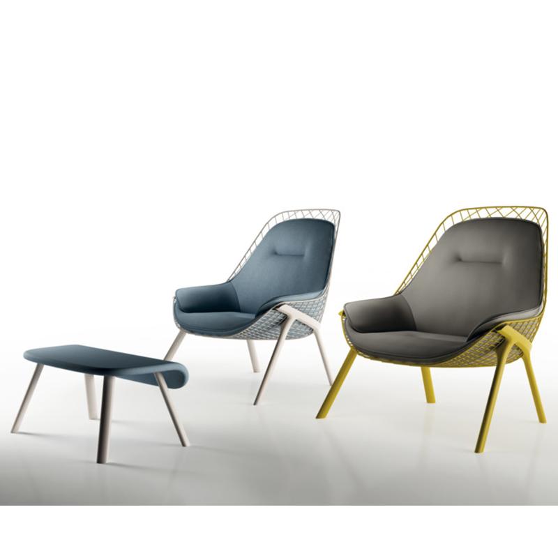 五金铁艺网格椅gran kobi时尚个性休闲椅 创意椅 简约 靠背椅