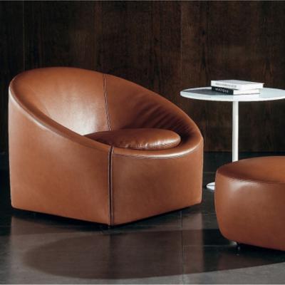 懒人沙发Capri armchair minotti圆桶款简易设计师样板房