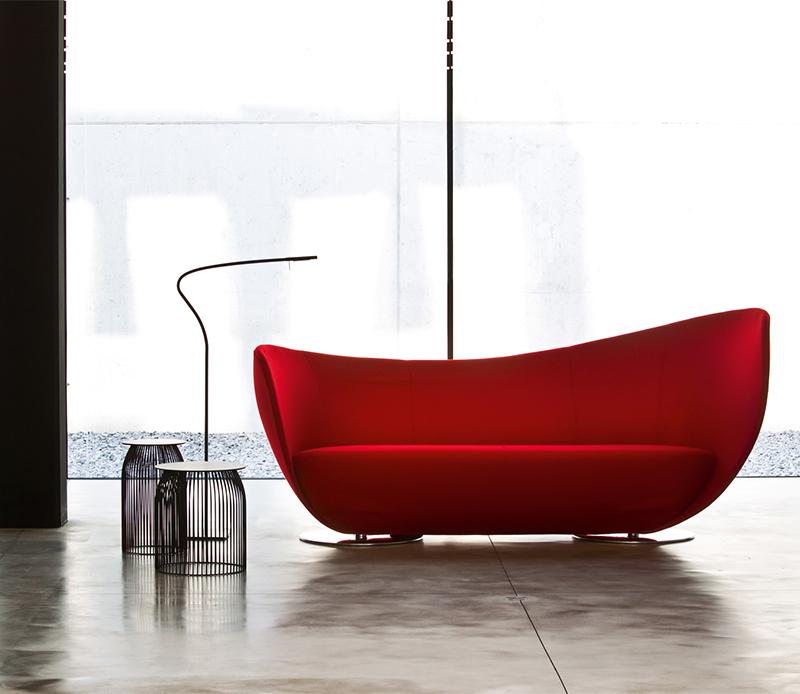 玻璃钢异形沙发Mon Coeura Loungesofa 大师设计个性休闲沙发颜色定制