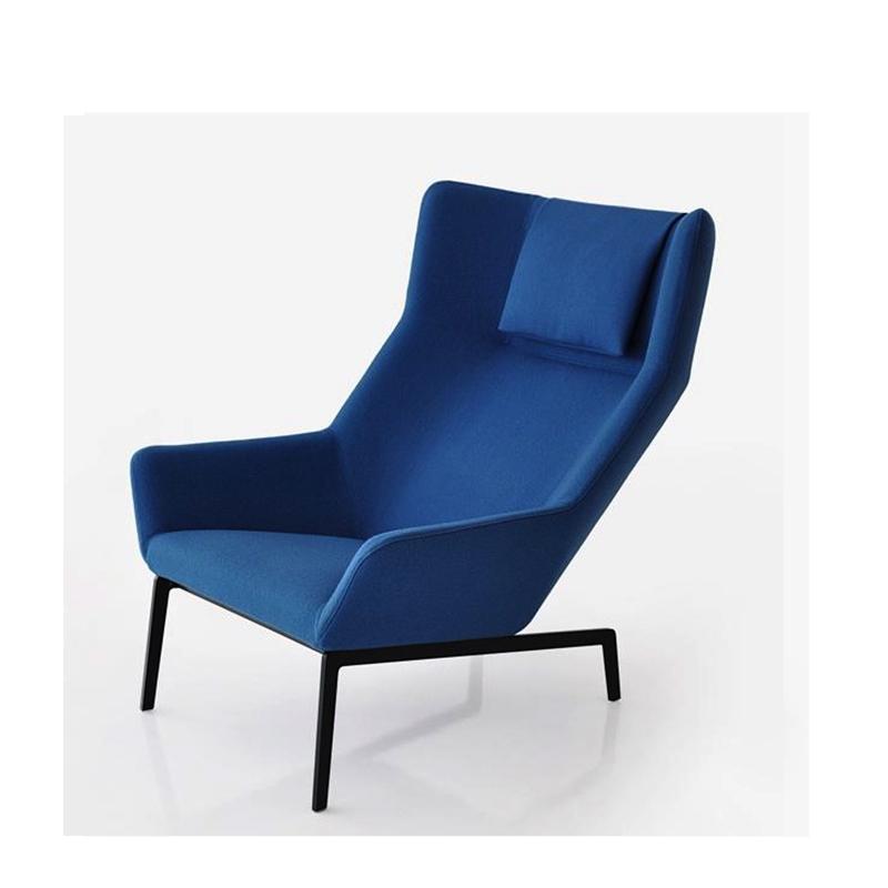 北欧经典布艺休闲椅Park Lounge Chair 会所酒店样板房会谈接待椅可定制