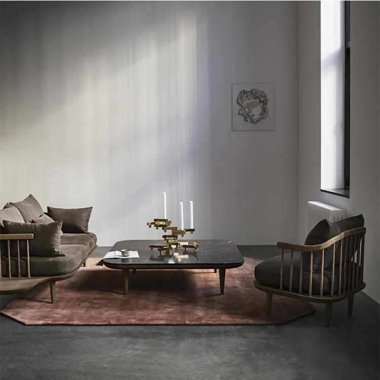 实木Lounge Chair创意时尚休闲椅单人沙发椅酒店会所设计师咖啡椅