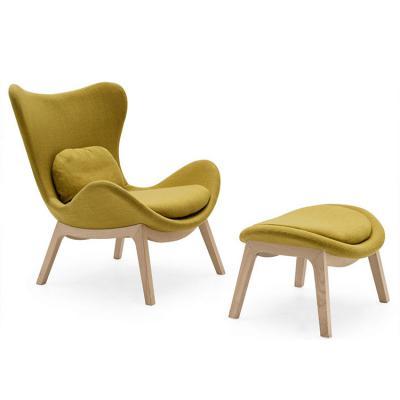 布艺款懒人沙发椅特价 现货北欧休闲休闲椅椅酒店样板房 玻璃钢椅  lueasygi Lazya Armchair